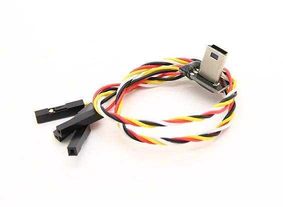 Mobius USB naar AV Out FPV kabel met opladen