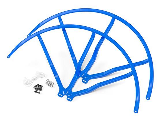10 Inch Plastic Universal Multi-Rotor Propeller Guard - Blauw (2set)