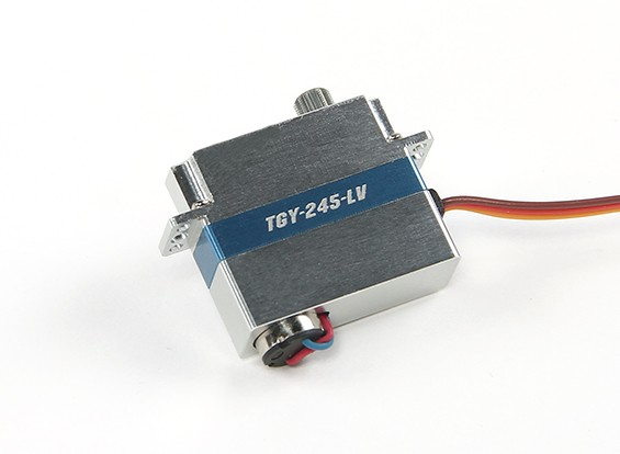 Turnigy ™ TGY-245-LV Low Voltage DLG Wing Servo w / Alloy Case 1,4 kg / 0.12sec / 8.6g