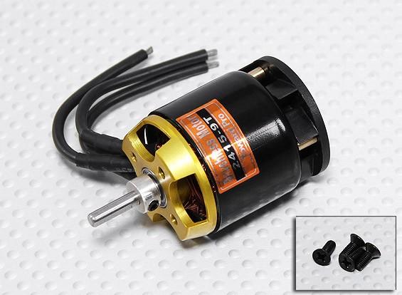 TP 450-Size 2415-09T Brushless Heli Motor 2700kv