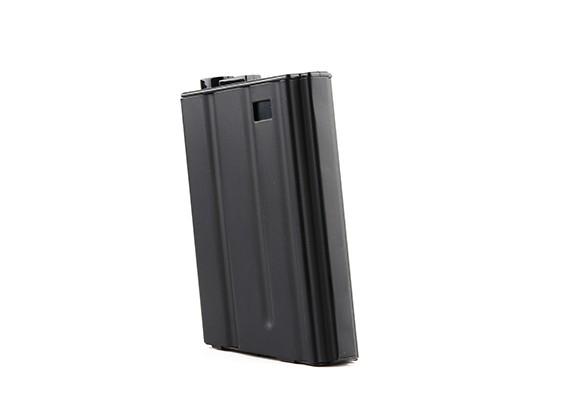 King Arms 190rounds metal tijdschriften voor Marui M16VN AEG-serie (zwart)