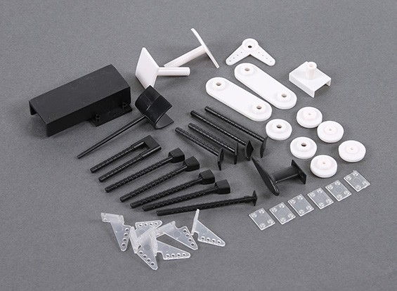 HobbyKing B-25 1250 - Vervanging Plastics Set