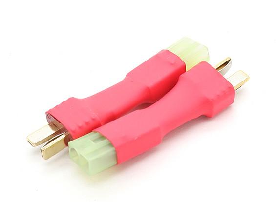 T-dockconnector-naar-Mini Tamiya Battery Adapter (2 stuks / zak)