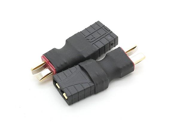 T-Connector naar TRX Compatible accu Adapter (2 stuks / zak)