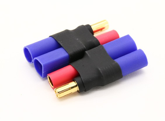 EC5 Vrouw naar 5.5mm 2pcs / bag