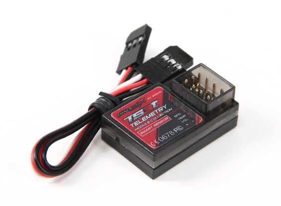 TrackStar TS3t Telemetrie Module w / aansluiten Wire
