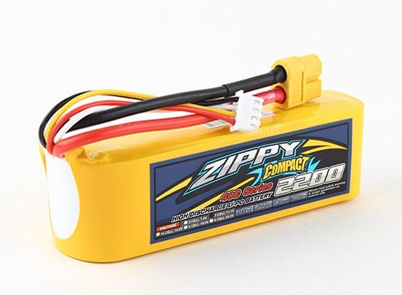 Pack ZIPPY Compact 2200mAh 3s 40c Lipo