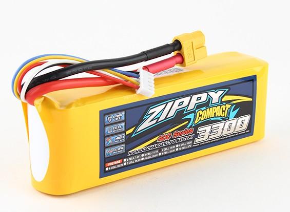 Pack ZIPPY Compact 3300mAh 4s 40c Lipo