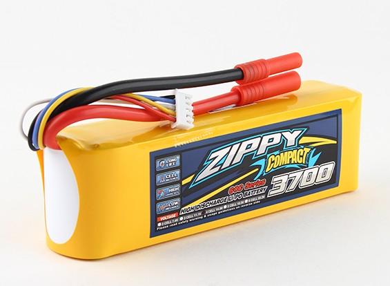 Pack ZIPPY Compact 3700mAh 4s 60c Lipo