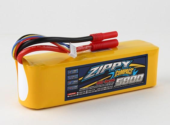 Pack ZIPPY Compact 5800mAh 4s 40c Lipo