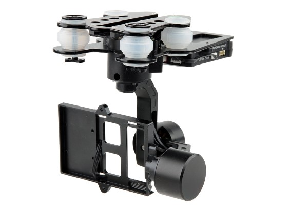 Walkera G-3D borstelloze 3-Axis GoPro Gimbal (geschikt voor Walkera QR X350PRO, TALI H500, en X800)