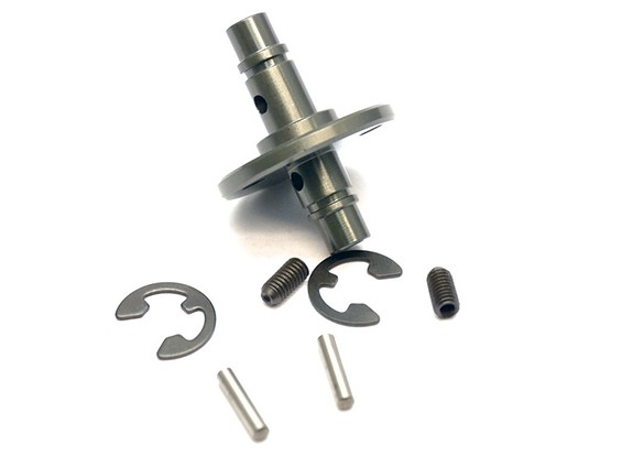 VBC Racing WildFireD06 - Center Pulley Drive Shaft Set