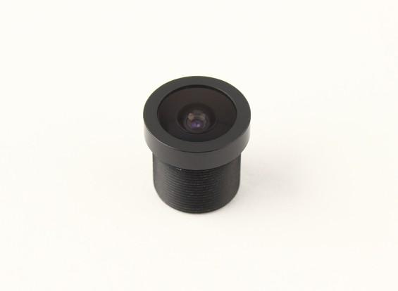 """2.1mm Board Lens, F2.0, Mount 12x0.5, CCD Maat 1/3 """", Hoek 150 °"""