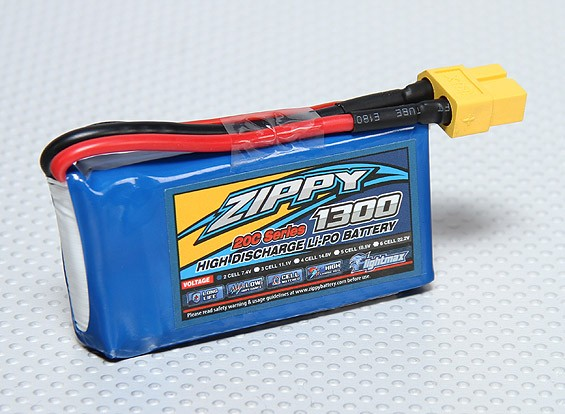 ZIPPY Flightmax 1300mAh 2S1P 20C