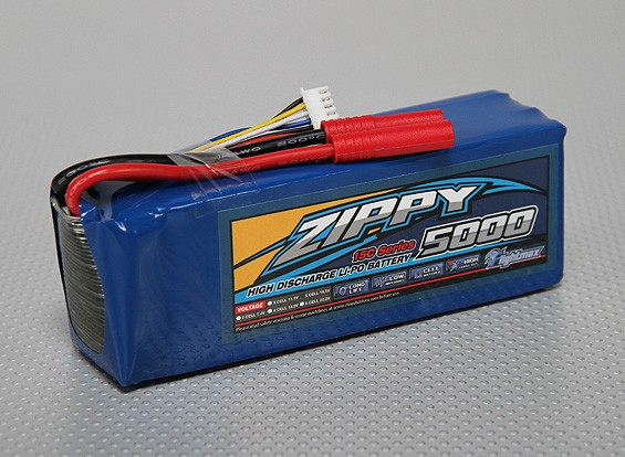 ZIPPY Flightmax 5000mAh 5S1P 15C