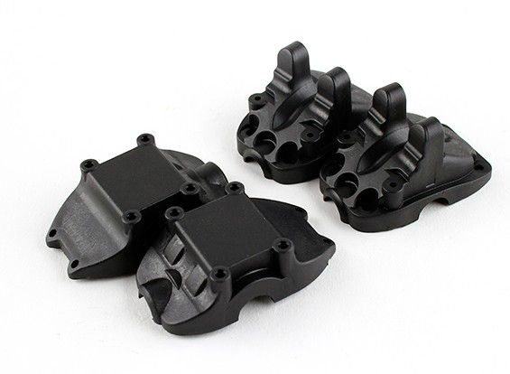 BSR Racing M.RAGE 4WD M-Chassis - versnellingsbak (Front)