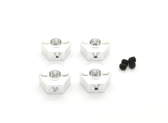 BSR Racing M.RAGE 4WD M-Chassis - 12mm Hex Hub (4 stuks)