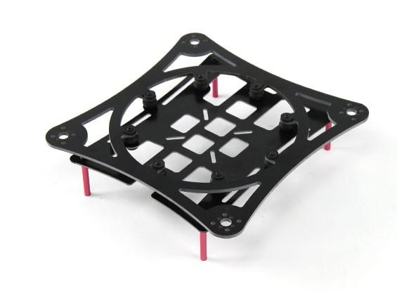 HobbyKing ™ Miniquad Cruiser / Racer Carbon Composite Frame Kit