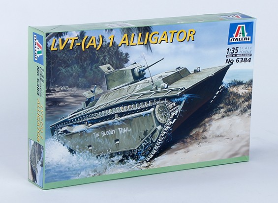 Italeri 1:35 Scale LVT - (A) 1 Alligator plastic model kit