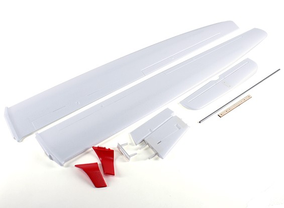 ASW 28 Sailplane 2540mm - Wing en Tail Set
