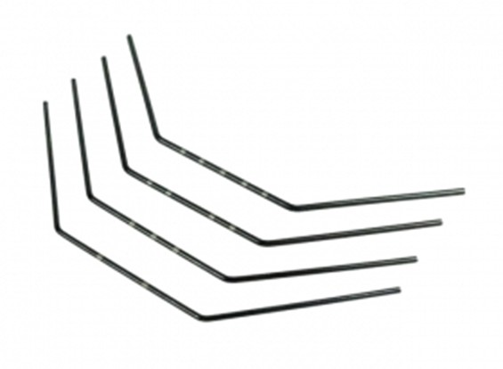 Voorste Stabilisator Set (1.2 / 1.3 / 1.4 / 1.5) - 3Racing SAKURA FF 2014
