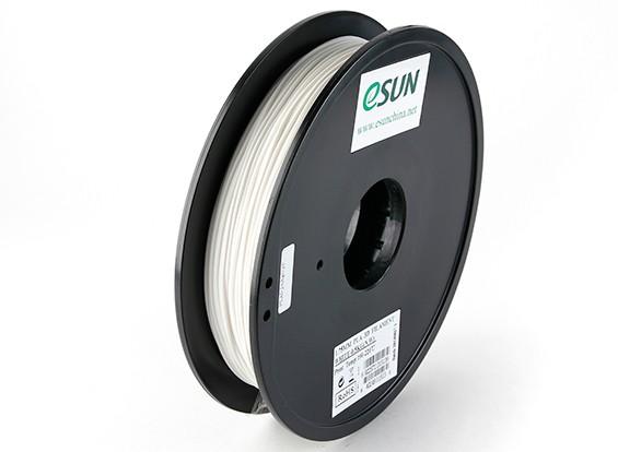 ESUN 3D-printer Filament White 1.75mm PLA 0,5 kg Spool