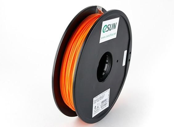 ESUN 3D-printer Filament Orange 1.75mm PLA 0,5 kg Spool