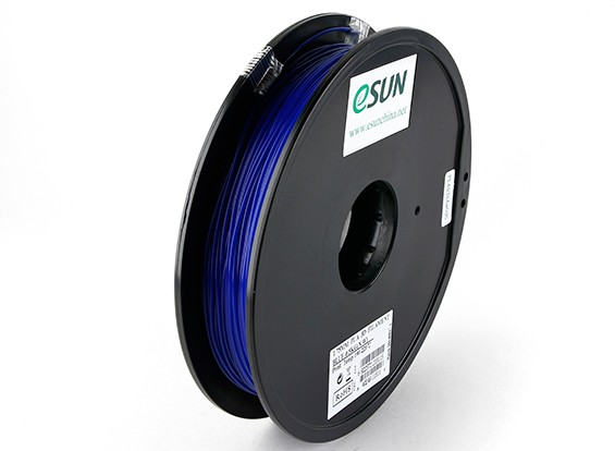 ESUN 3D-printer Filament Blue 1.75mm PLA 0,5 kg Spool