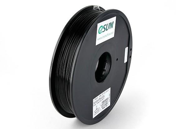 ESUN 3D-printer Filament Black 1.75mm ABS 0,5 kg Spool