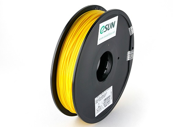 ESUN 3D-printer Filament Geel 1.75mm ABS 0,5 kg Spool