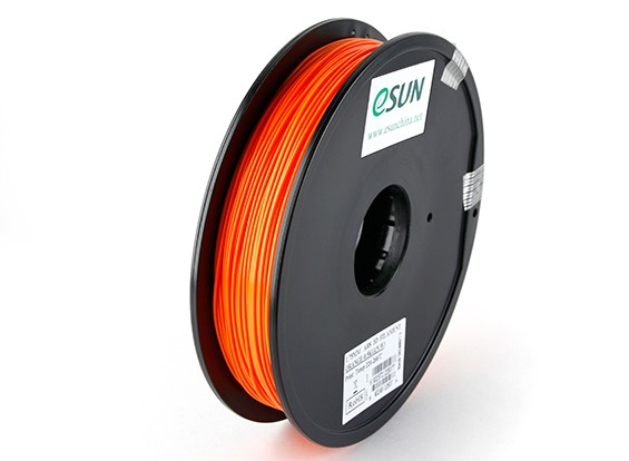 ESUN 3D-printer Filament Orange 1.75mm ABS 0,5 kg Spool
