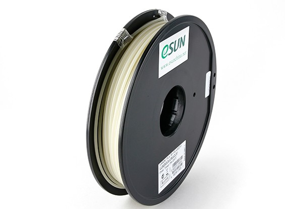 ESUN 3D-printer Filament Luminous Green 3mm PLA 0,5 kg Spool