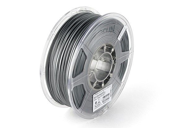 ESUN 3D-printer Filament Silver 1.75mm PLA 1kg Roll
