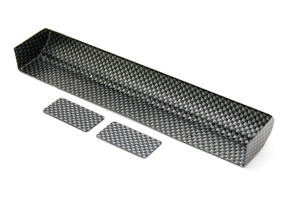 Ride Ultra High Downforce HD Lip Carbon Pattern Wing - IFMAR goedgekeurd (Pre-cut)