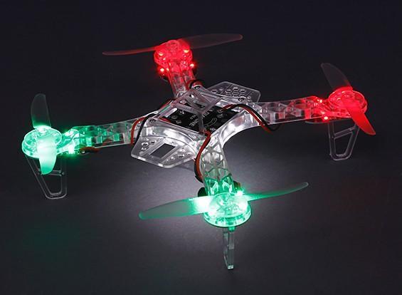 HobbyKing FPV250 Ghost Edition LED Night Flyer FPV Drone
