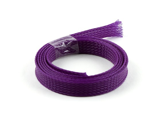 Wire Mesh Guard Purple 10mm (1m)