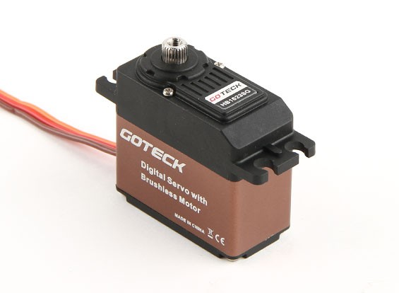 Goteck HB1623S HV Digital borstelloze MG High Torque STD Servo 16kg / 0.10sec / 53g