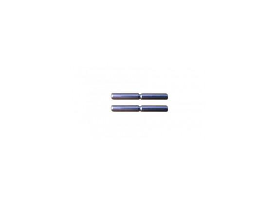Achterwielophanging Outer Pin Set - 3Racing SAKURA FF 2014