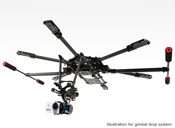 H-King Camera Gimbal Drop Voor Propeller Gratis View