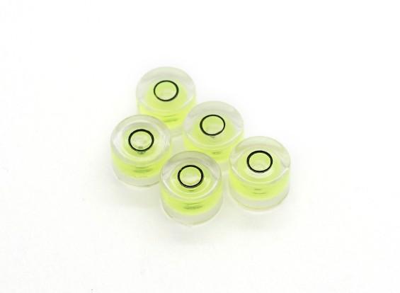 6mm Diameter Waterpas (5 stuks)