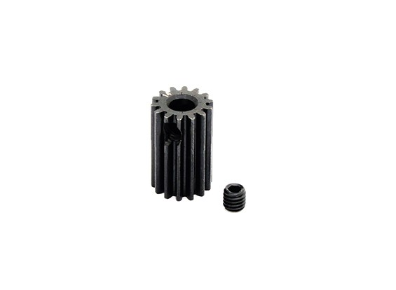 Hobbyking ™ 0.5M gehard staal Helicopter Pinion Gear 3.17mm Shaft - 14T