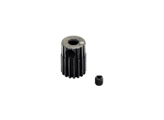 Hobbyking ™ 0.5M gehard staal Helicopter Pinion Gear 3.17mm Shaft - 16T