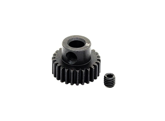 Hobbyking ™ 0.6M gehard staal Helicopter Pinion Gear 5mm Shaft - 26T