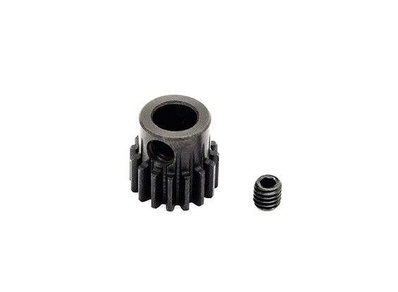 Hobbyking ™ 0,7M gehard staal Helicopter Pinion Gear 6mm Shaft - 16T