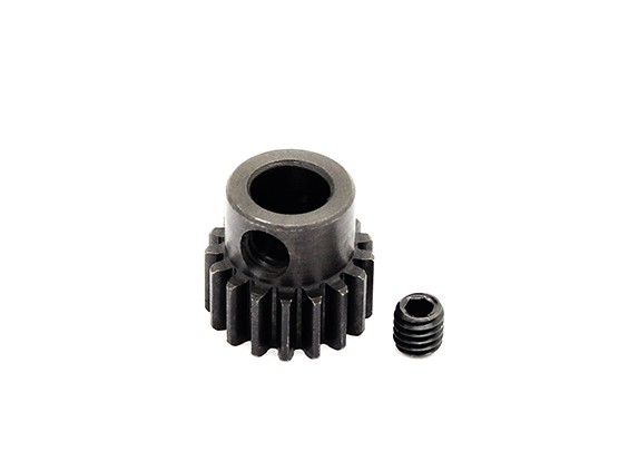 Hobbyking ™ 0,7M gehard staal Helicopter Pinion Gear 6mm Shaft - 17T