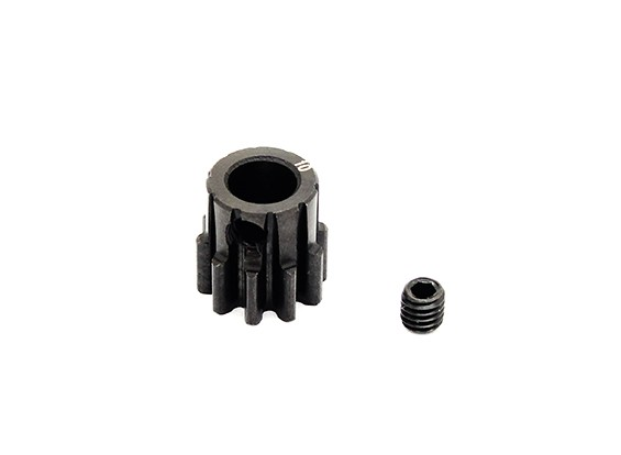 Hobbyking ™ 1.0M gehard staal Helicopter Pinion Gear 6mm Shaft - 10T