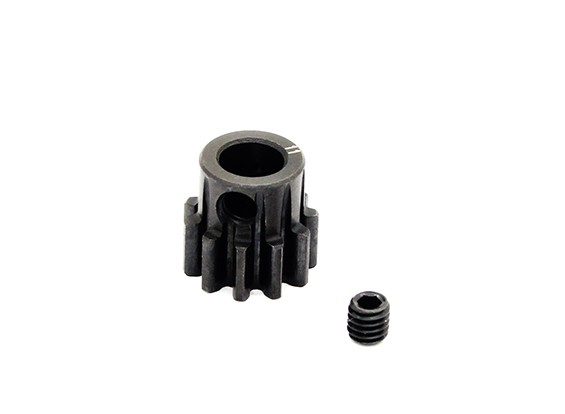 Hobbyking ™ 1.0M gehard staal Helicopter Pinion Gear 6mm Shaft - 11T