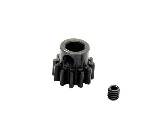 Hobbyking ™ 1.0M gehard staal Helicopter Pinion Gear 6mm Shaft - 12T