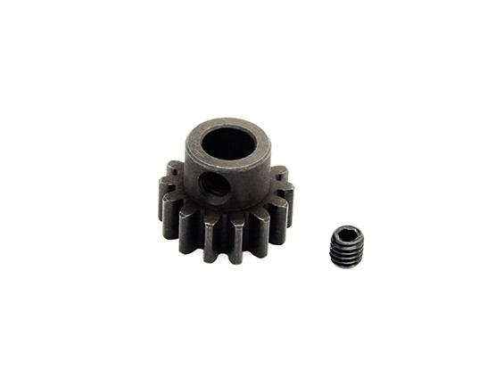Hobbyking ™ 1.0M gehard staal Helicopter Pinion Gear 6mm Shaft - 14T