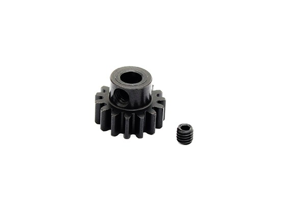 Hobbyking ™ 1.0M gehard staal Helicopter Pinion Gear 5mm Shaft - 15T